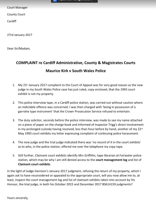 application for adjournment magistrates court