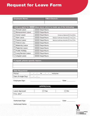 leave application for father operation