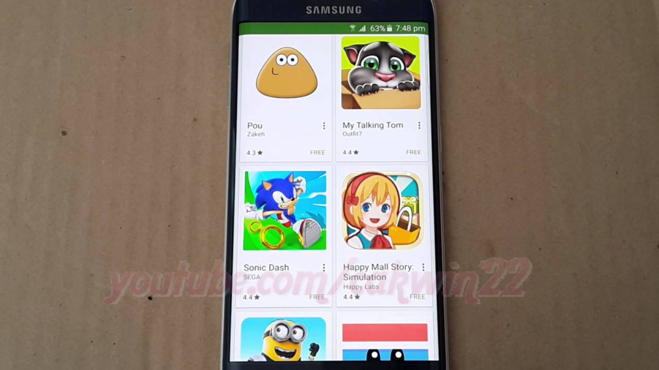 google play store application install