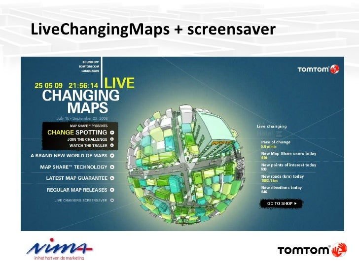 tomtom map share application download