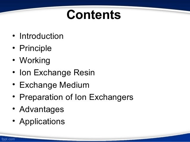 applications of ion exchange chromatography