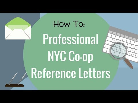 co op application reference letter