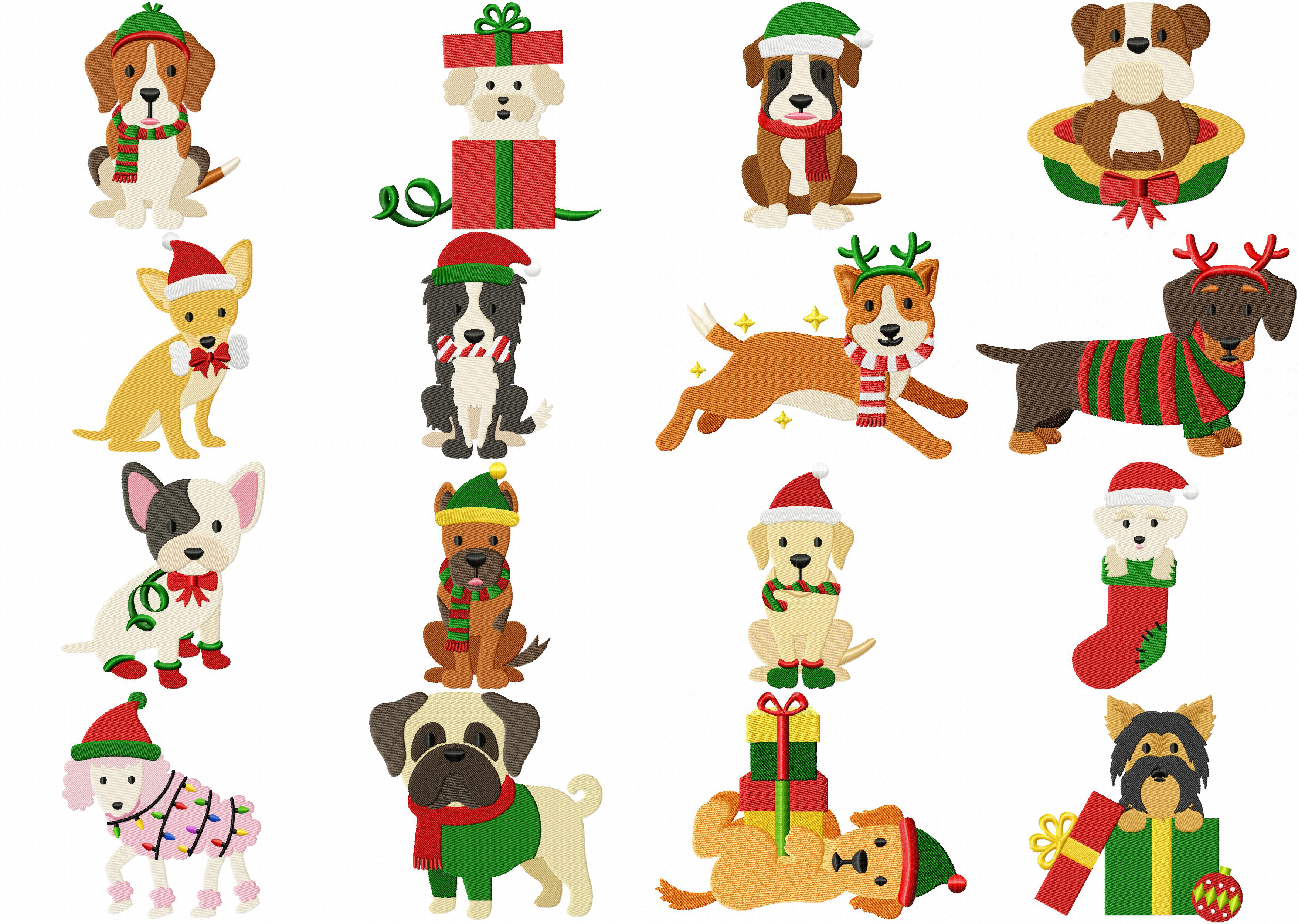 free christmas applique patterns to download